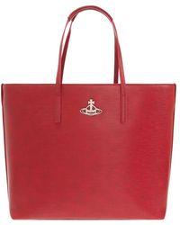 Vivienne Westwood Shopper Bag - Rood