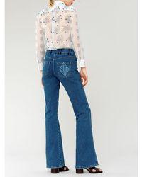 Chloé Pantalones Azul