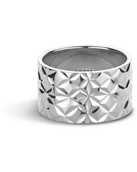 Jane Kønig Big Reflection Ring, Sterling Silver - Grijs