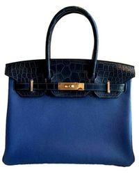 Hermès Birkin 30cm - Blu