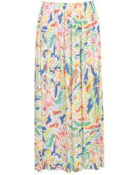 Issey Miyake Long Straight Skirt - Jaune