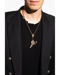 DSquared² Necklace with crystals Amarillo