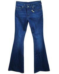 Gucci Yuuki Ratsuki Wash Jeans - Blauw