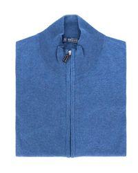 Breuer Cardigan Cremallera - Bleu