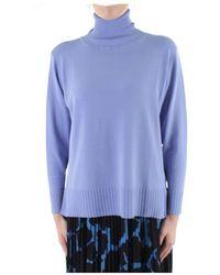 Beatrice B. Knitwear High Neck - Blauw
