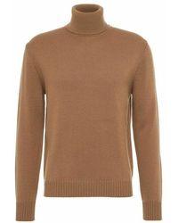Ballantyne Knitwear T2p111 12 - Bruin