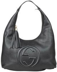 Gucci Grote Soho Hobo - Zwart
