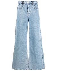 Isabel Marant Trousers - Blauw