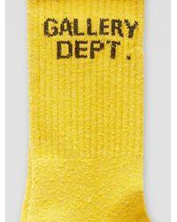 GALLERY DEPT. Clean Socks Yellow - Gelb