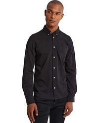 Denham Bridge Shirt - Zwart