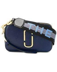 "Marc Jacobs De Logo Strap ""snapshot"" Tas - Blauw"