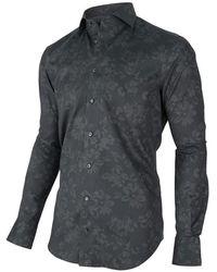 Cavallaro Primo shirt Gris