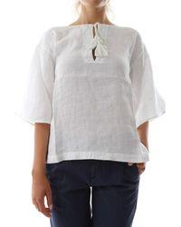 40weft Gemma 6442 Shirt - Wit