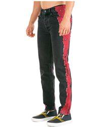 Marcelo Burlon Men's Jeans Denim - Zwart