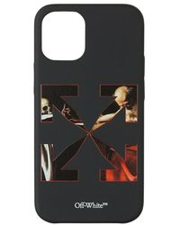 Off-White c/o Virgil Abloh Iphone 12 Mini caravaggio Case - Zwart