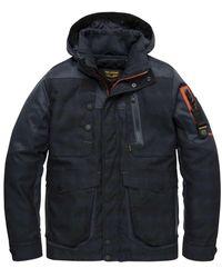 PME LEGEND Hooded Jacket - Zwart