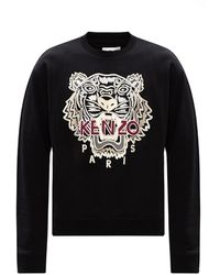 "KENZO ""tiger"" Sweatshirt - Zwart"