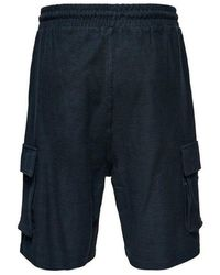 Only & Sons Shorts Azul