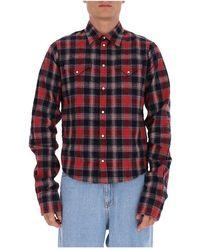 Yes-Zee Plaid Shirt - Rood
