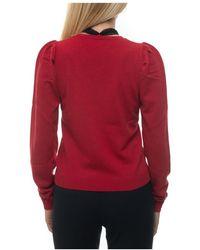summum woman Pullover Rojo