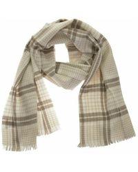 Brunello Cucinelli Prince of wales batavia scarf - Neutre