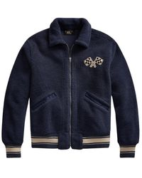 Ralph Lauren Bomber Jacket - Blauw