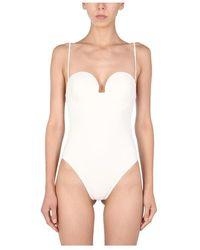 Magda Butrym Swimsuit - Wit