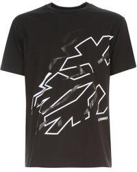 adidas Originals Tshirt Snowflake - Zwart
