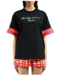 Stella Jean T-shirt - Noir
