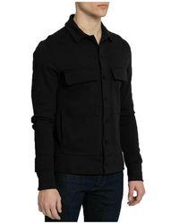 Thom Krom Classic Shirt Jacket Negro