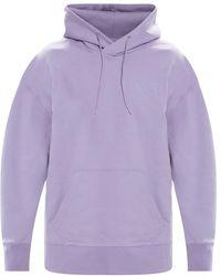Y-3 Logo hoodie - Viola