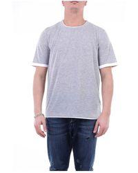 Alpha Studio Au2410c Short Sleeve T-shirt - Grijs