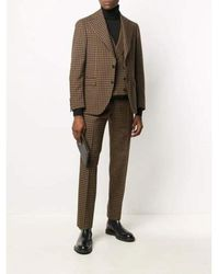Gabriele Pasini Three-piece suit for men Marrón