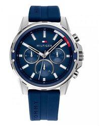 Tommy Hilfiger Watch Ur - 1791791 - Blauw