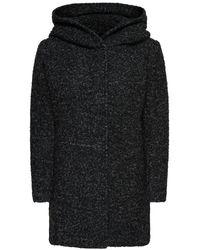 ONLY Mantel Wolle - Schwarz