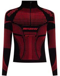 MISBHV leggings With Logo - Zwart