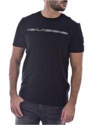 Guess - Tee Shirt Stretch À Logo - Lyst