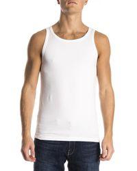 Alan Red Oakland Sleeveless Shirt White - Wit