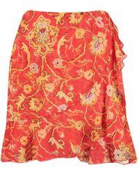 Harper & Yve Skirt - Rouge