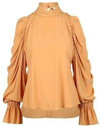 Erika Cavallini Semi Couture Semi-couture Shirts - Oranje