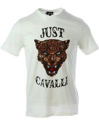 Just Cavalli T-shirt - Wit