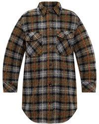 Samsøe & Samsøe Checked jacket - Marrone