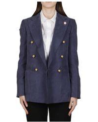 Lardini Jackets - Bleu