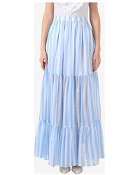 MSGM Skirt Azul