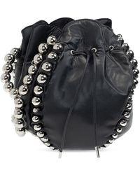 Comme des Garçons Drawstring Shoulder Bag - Zwart