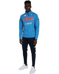 Kappa Complete Suit With Naples Emblem - Blauw