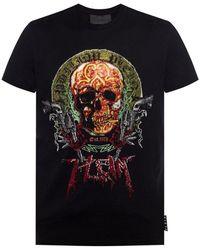 Philipp Plein - T-shirt avec logo - Lyst