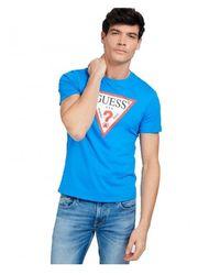 Guess - Camiseta Logo - Lyst