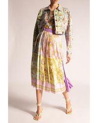 Versace Jeans Couture Pleated skirt Amarillo - Neutro