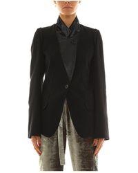 Ann Demeulemeester Jacket - Noir